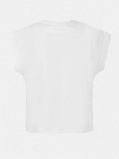 T-Shirt Girl White Guess