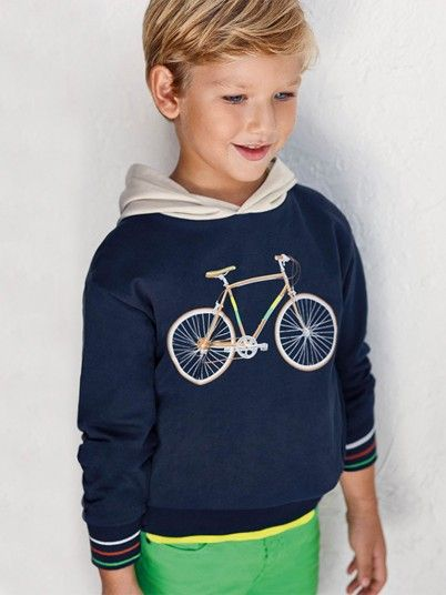 Sweatshirt Boy Navy Blue Mayoral