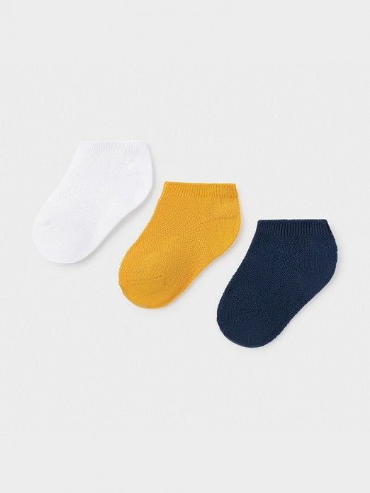 Socks Baby Boy Yellow Mayoral