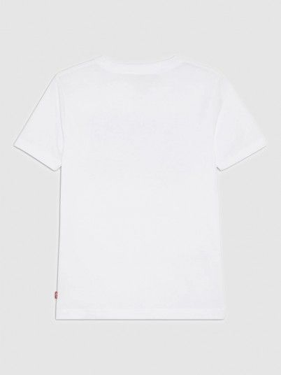 T-Shirt Boy Cream Levis