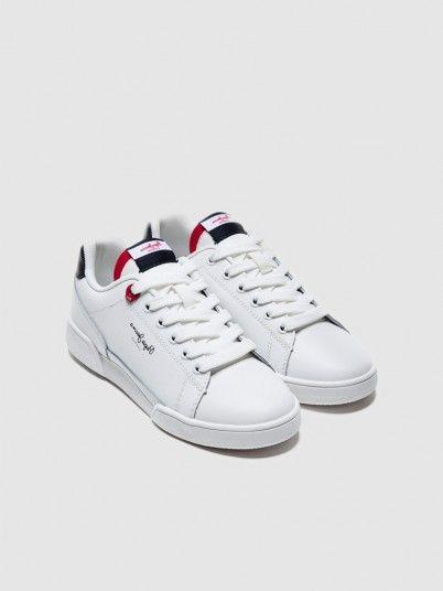 Sneakers Boy White Pepe Jeans London