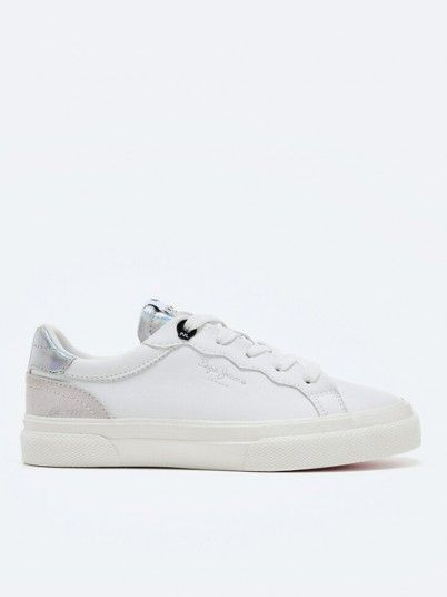 Sneakers Girl White Pepe Jeans London