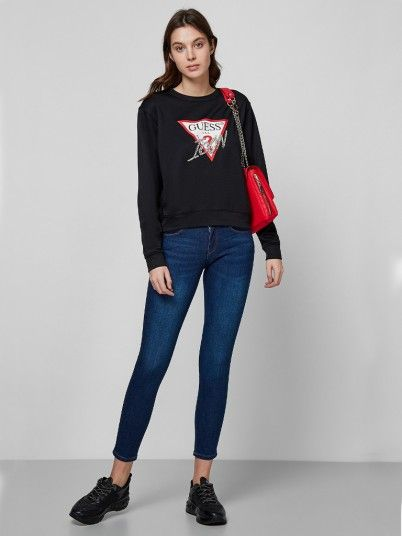 Jeans Woman Dark Jeans Guess