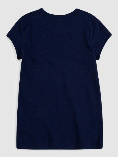 T-Shirt Girl Navy Blue Levis