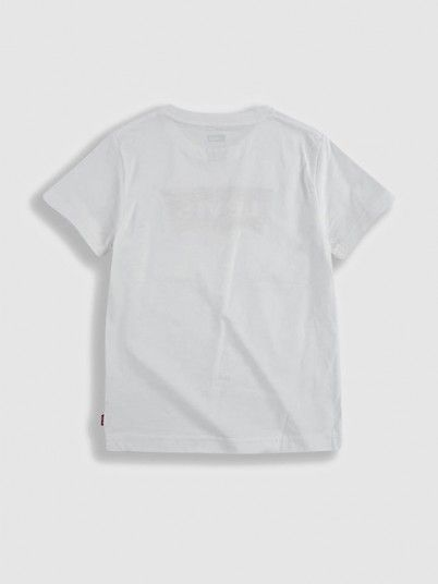 T-Shirt Boy White Levis