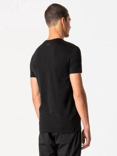 T-Shirt Man Black Antony Morato