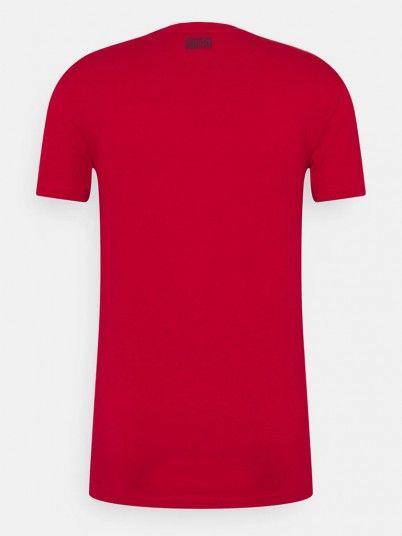 T-Shirt Man Red Antony Morato