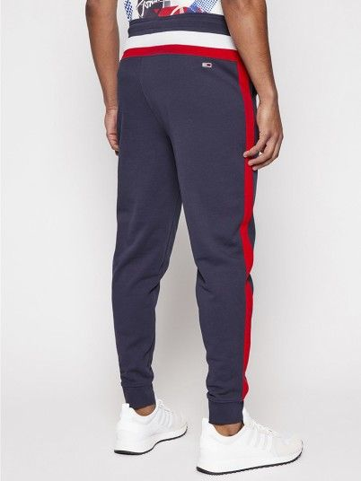 Pants Man Navy Blue Tommy Jeans