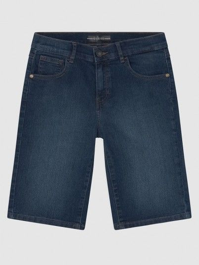 Shorts Boy Dark Jeans Guess