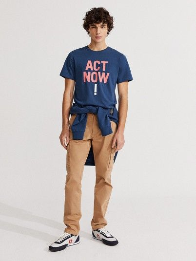 T-Shirt Homem Baumalf Ecoalf