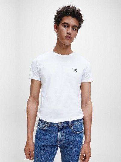 T-Shirt Homem Slim Tee Calvin Klein