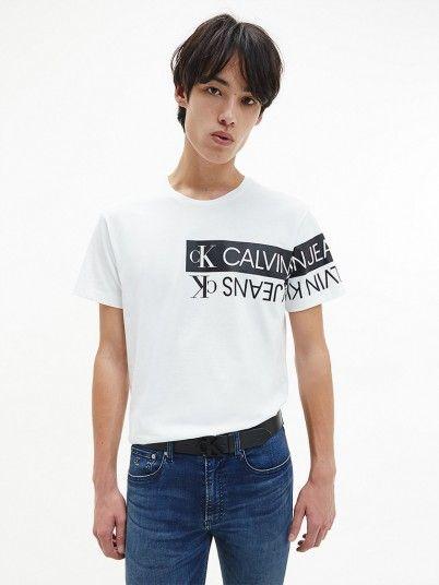 T-Shirt Homem Mirror Calvin Klein