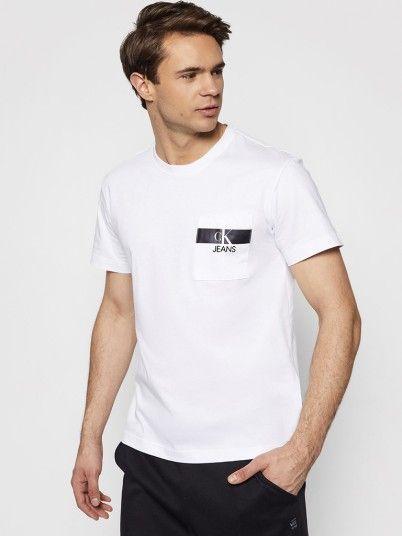 T-Shirt Homem Horizontal Calvin Klein