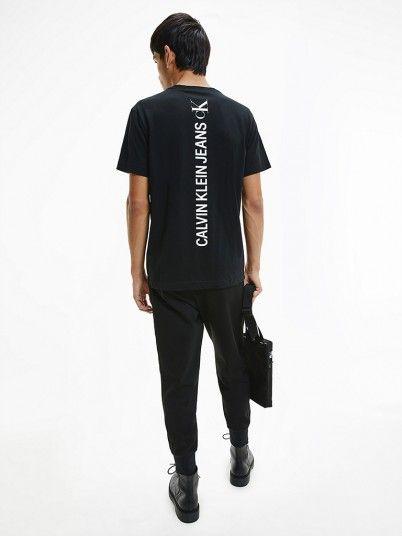 T-Shirt Homem Vertical Calvin Klein