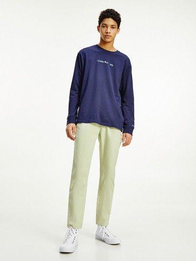 Sweatshirt Homem Vertica Tommy Jeans