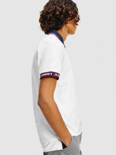 Polo Homem Detail Tommy Jeans