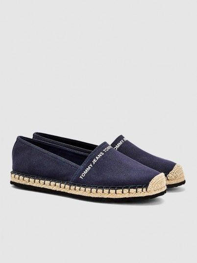 Shoes Woman Navy Blue Tommy Jeans