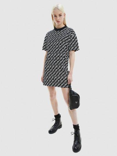 Dress Woman Black Calvin Klein