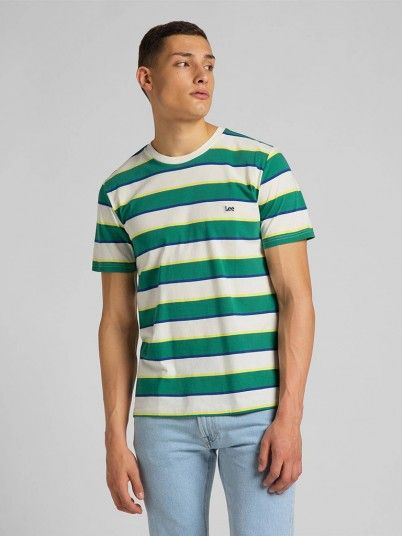 T-Shirt Homem Stripe Lee