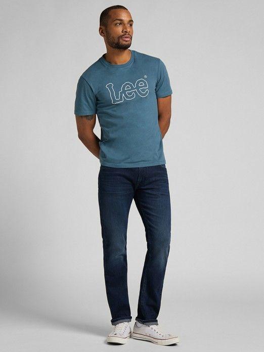 T-Shirt Homem Wobbly Lee