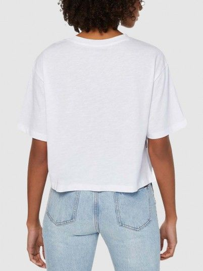 T-Shirt Woman White Armani Exchange