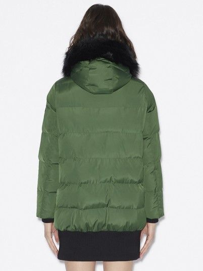Jacket Woman Green Armani Exchange