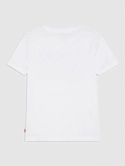 T-Shirt Boy Cream Levis