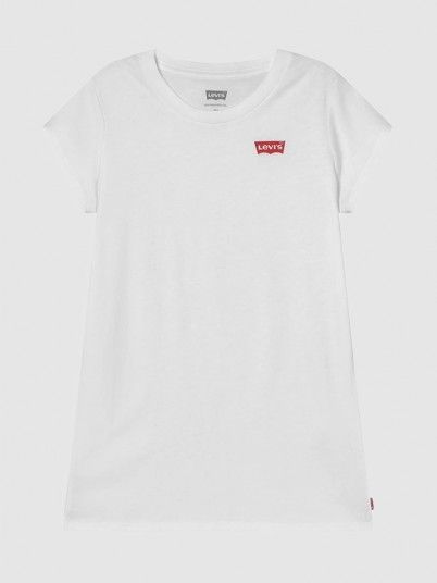 T-Shirt Girl White Levis
