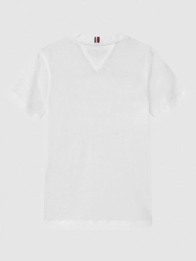 T-Shirt Boy White Tommy Jeans Kids