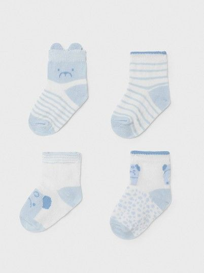 Socks Baby Girl Blue Mayoral