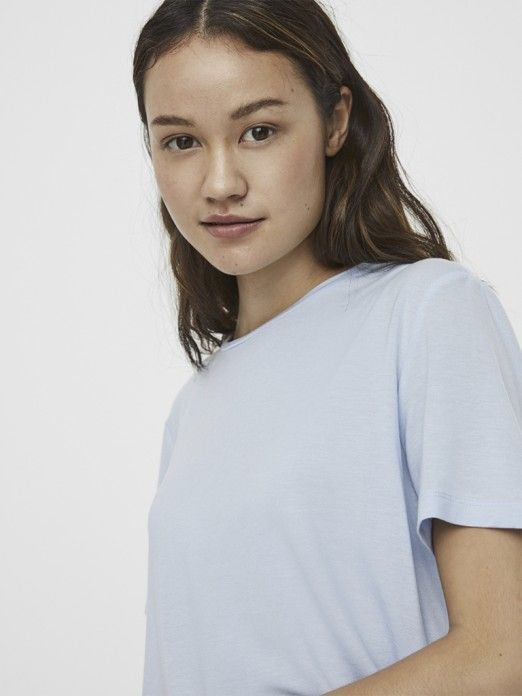 T-Shirt Woman Blue Vero Moda