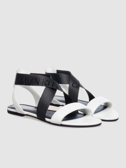 Sandals Woman White Calvin Klein