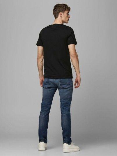 T-Shirt Man Black Jack & Jones