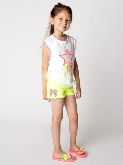T-Shirt Menina Billie Blush