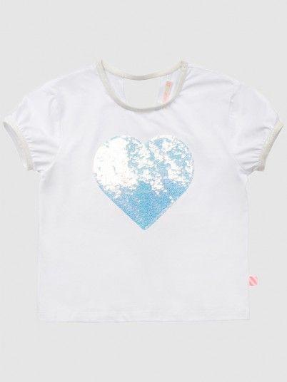 T-Shirt Girl White Billie Blush