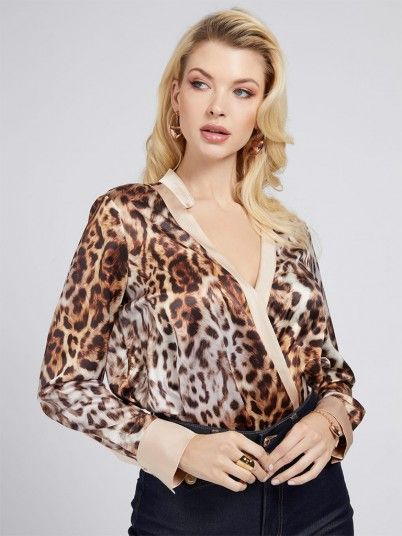 Camisa Mulher Leopard Charm Marciano