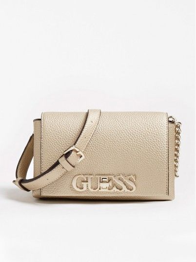 Handbag Woman Golden Guess