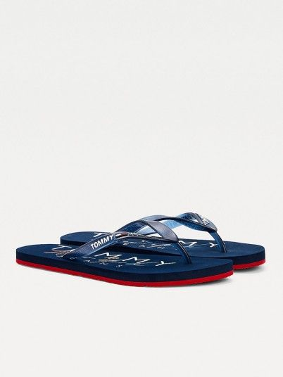 Chinelo Mulher Rubber Tommy Jeans