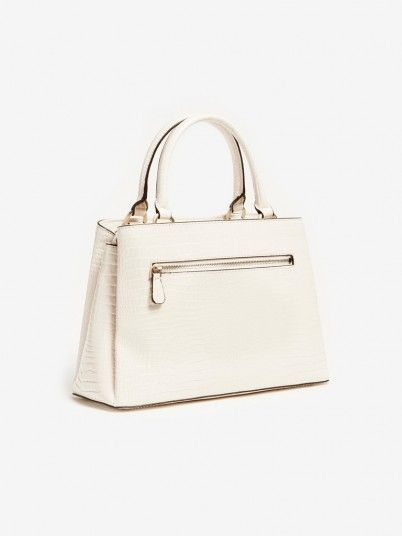 Handbag Woman Cream Guess
