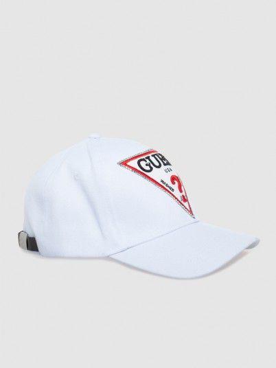 Hat Woman White Guess