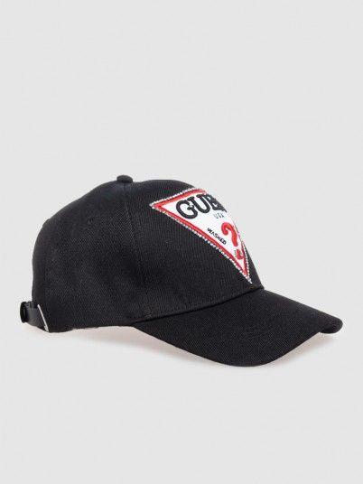 Hat Woman Black Guess