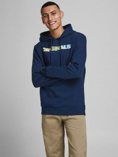 Sweatshirt Homem Strong Jack Jones