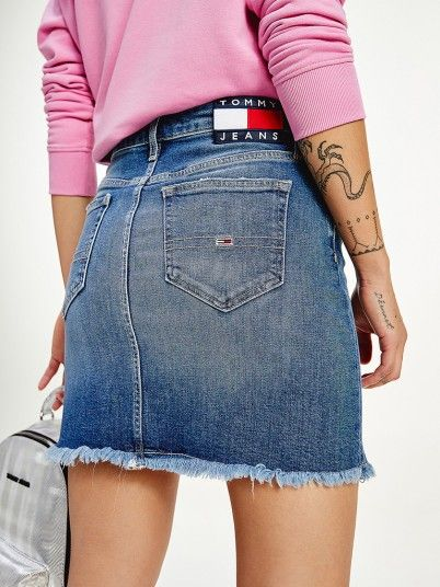 Skirt Woman Jeans Tommy Jeans
