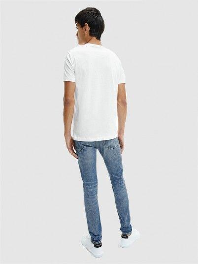 T-Shirt Homem Horrizontal Calvin Klein
