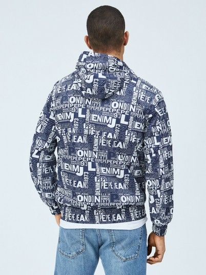 Jacket Man Navy Blue Pepe Jeans London
