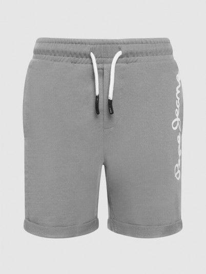 Shorts Boy Grey Pepe Jeans London