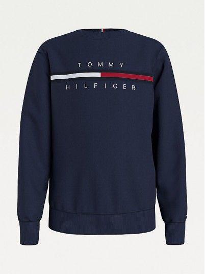 Sweatshirt Menino Flag Ribinsert Tommy Jeans