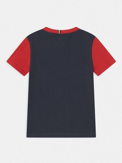 T-Shirt Boy Navy Blue Tommy Jeans Kids