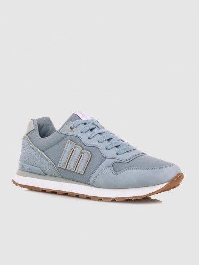 Sneakers Woman Light Blue Mtng