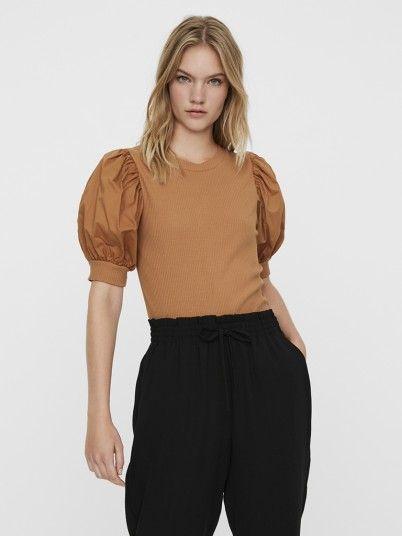 T-Shirt Mulher Isla Vero Moda